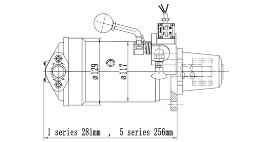 Site of Cqstart Spring Starter For 4-7.5L Diesel Engine