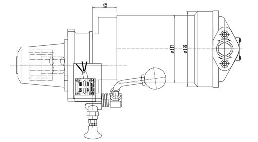 Size of Special Cqstart Spring Starter For Diesel Engine