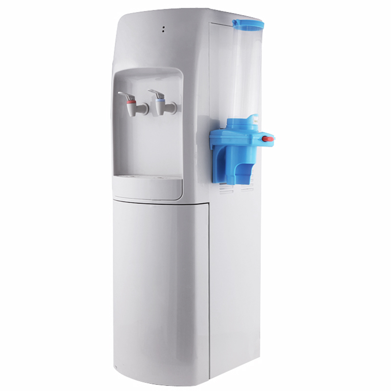 Floor Standing Hot and Cold Spring Water Dispenser Compressor Cooling Jndwater YLR2-5-X (204L)