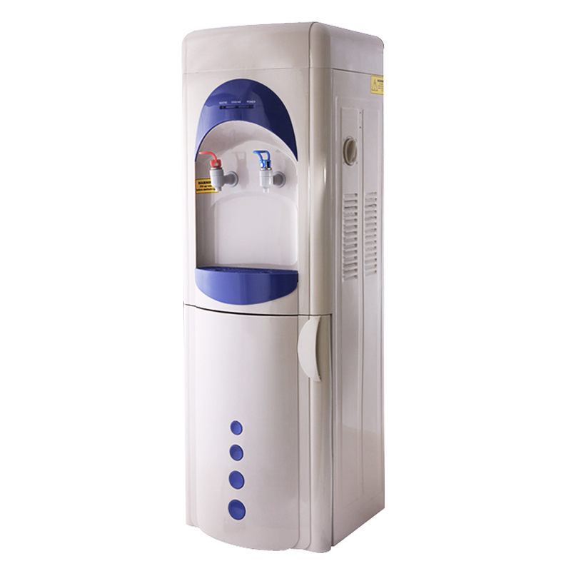 Hot and Cold Water Dispenser with Mini Refrigerator